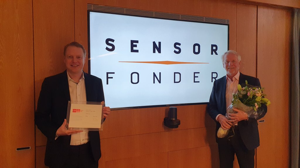 SEnsor Sverige Select vann Morningstar fund awards 2020